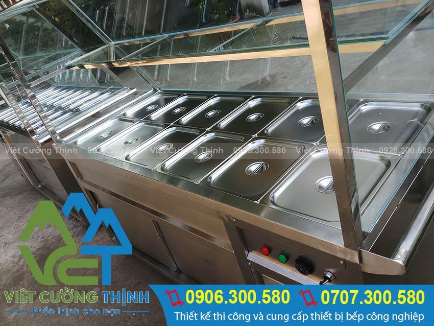 Báo giá tủ hâm nóng thức ăn, tủ giữ nóng thực phẩm tại TPHCM.