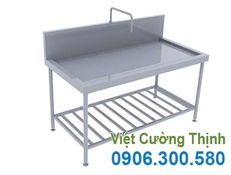 Bàn inox có vòi nước chất lượng, giá tốt tại Tp.HCM