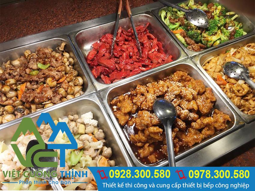 Tủ hâm nóng thức ăn giúp món ăn vẫn giữ nguyên hương vị thơm ngon. Bảo đảm sức khỏe người tiêu dùng.