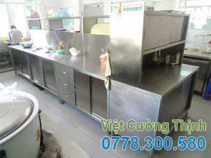Tủ inox đựng bát đĩa nhiều tầng nhiều ngăn -TU19001.