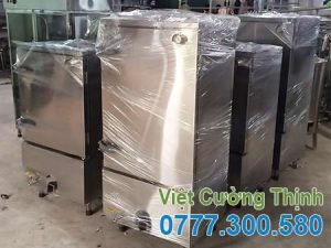 Tủ nấu cơm công nghiệp 30kg bằng điện và gas.
