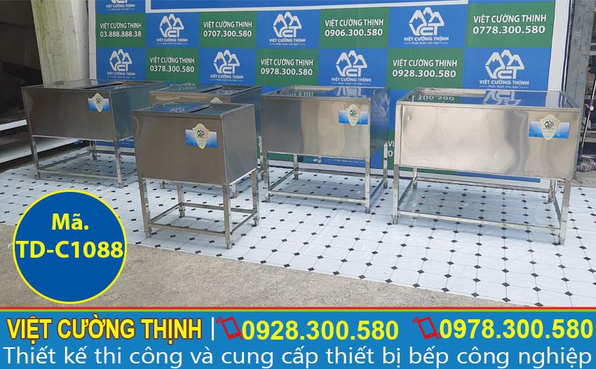 Bộ 5 sản phẩm thùng đá inox 304 tại Việt Cường Thịnh