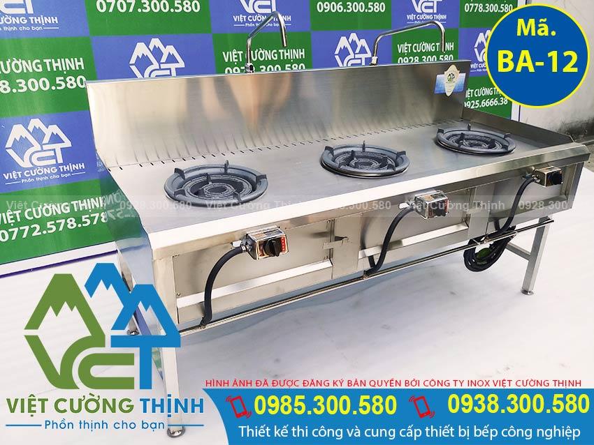 Việt Cường Thịnh - Địa chỉ mua bếp á 3 họng kiềng tô thấp áp, bếp khè 3 họng, bếp gas công nghiệp 3 họng chất lượng giá tốt.