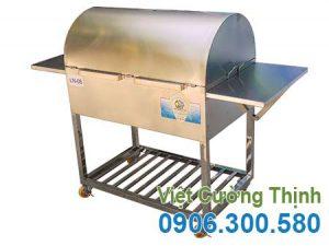 lò nướng than inox 304 LN-08