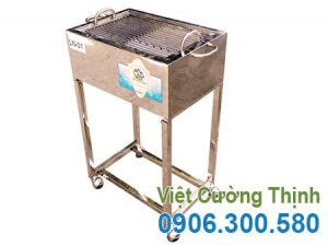 Bếp nướng than inox LN-01, bếp nướng bbq, lò nướng sườn inox giá tốt chỉ có tại Việt Cường Thịnh.
