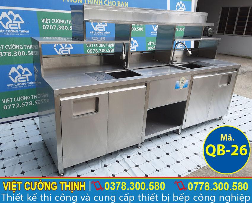 Quầy bar inox chất lượng tại Việt Cường Thịnh