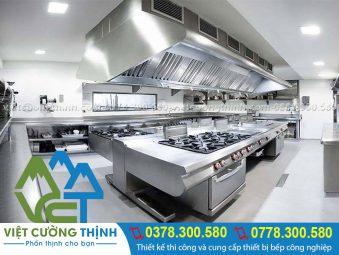 Thi công thiết bị bếp công nghiệp nhà hàng