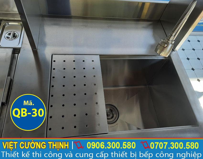 Vòi xả nước quầy pha chế inox QB-30