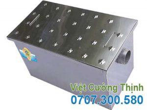 Bể tách mỡ inox 120l âm sàn BM-A120