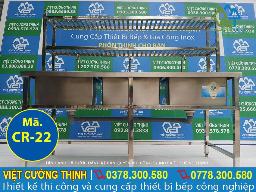 Giá bồn rửa chén inox 304