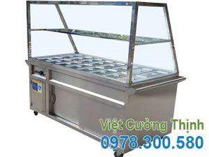 Tủ Hâm Nóng Thức Ăn 16 Khay Chất Lượng Tại Việt Cường Thịnh