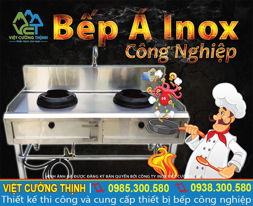 Cung cấp bếp á công nghiệp giá tốt