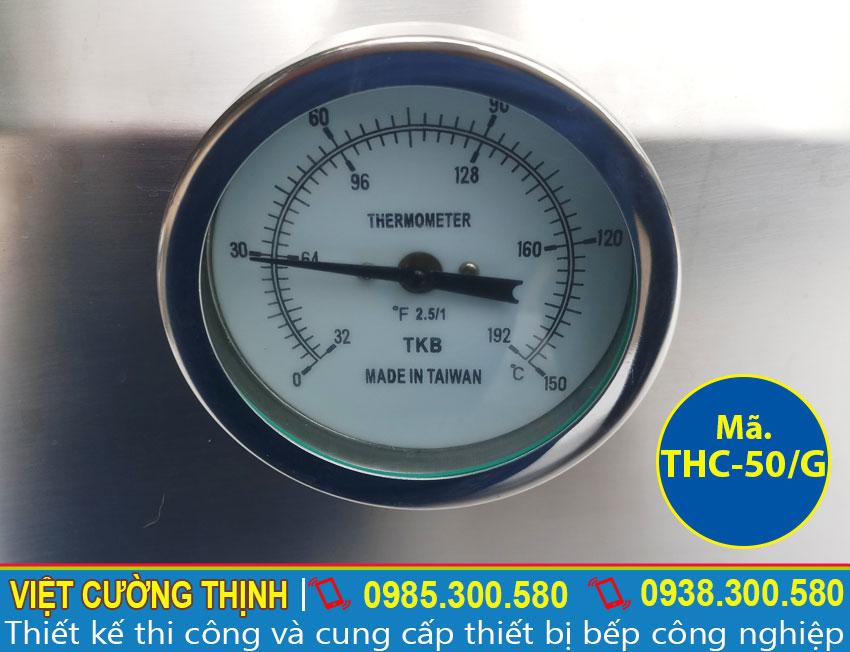 Đồng hồ tủ nấu cơm 50kg sử dụng gas
