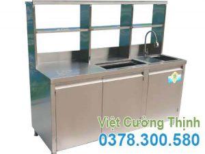 Quầy Bar Pha Chế Cafe Inox QB-11