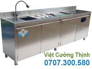 Quầy Bar Pha Chế Cafe Inox QB-13