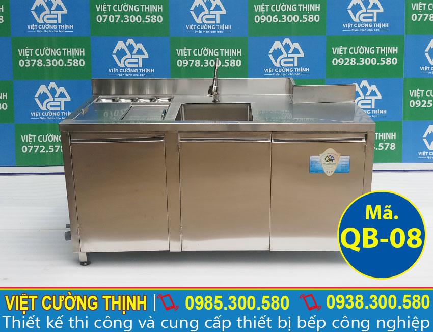 quầy pha chế inox 304 chất lượng tại Việt Cường Thịnh