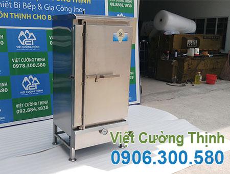 Tủ Nấu Cơm Công Nghiệp Bằng Điện Và Gas 160kg THC-160/GD