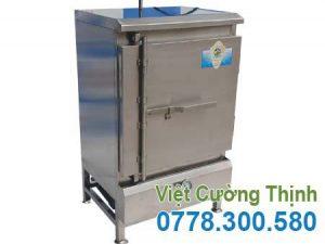 Tủ nấu cơm 30kg sử dụng gas Việt Cường Thịnh
