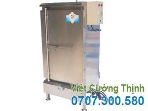 tủ nấu cơm công nghiệp chất lượng, giá tốt 50kg sử dụng điện & gas