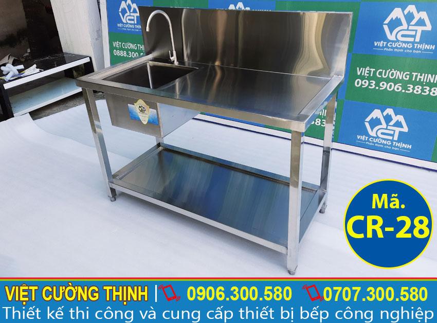 Báo giá chậu rửa inox 304 chất lượng tại VCT