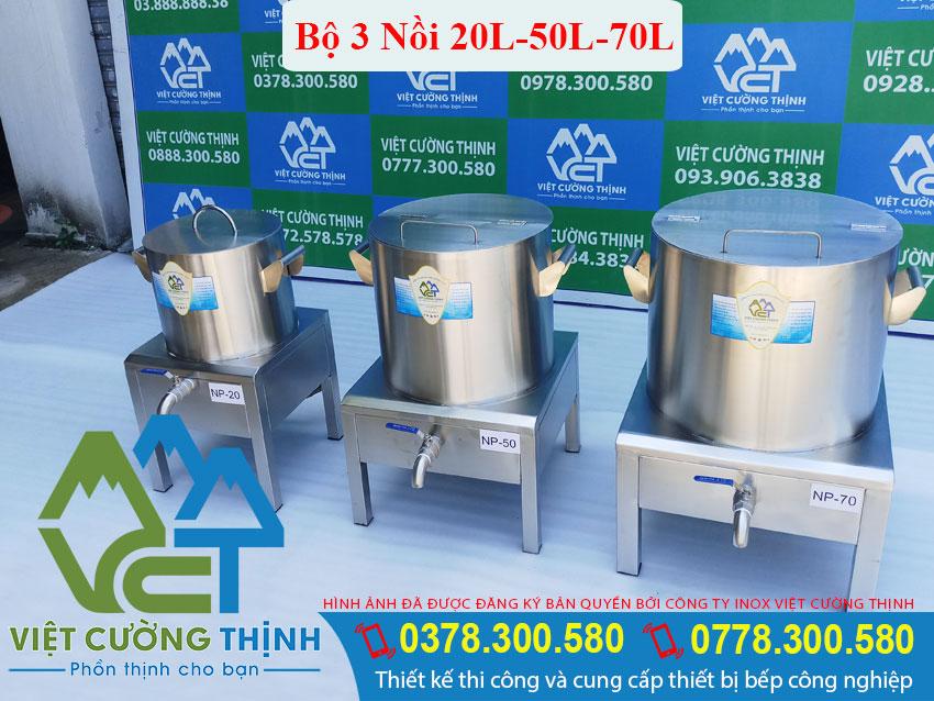 Bộ Nồi Nấu Phở Công Nghiệp Bằng Điện 20L-50L-70L Giá Tốt