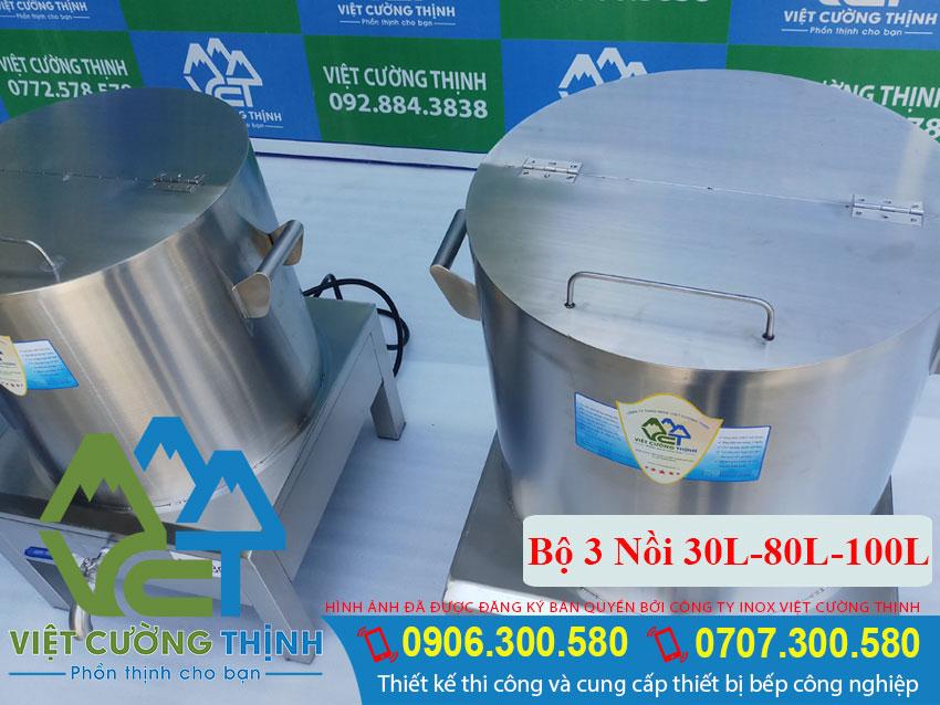 Nồi Điện Nấu Phở Tiêu Chuẩn 30L-80L-100L chất lượng
