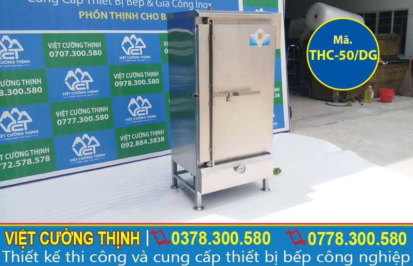 Cung cấp tủ cơm công nghiệp 50kg điện và gas