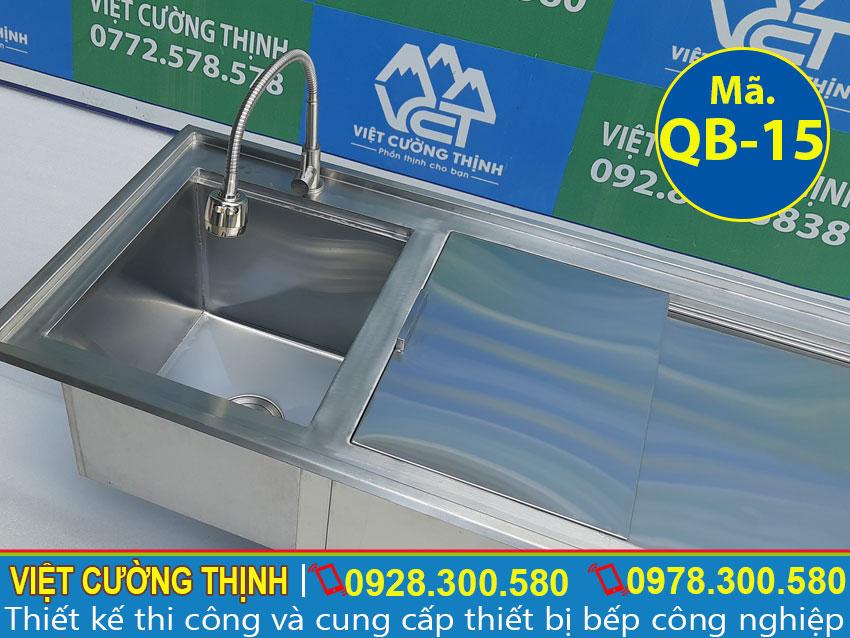 Vòi nước được làm từ chất liệu 304, đảm bảo chất lượng