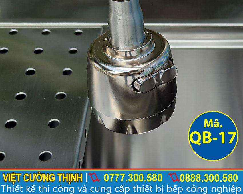Vòi nước Tủ đựng đá inox 304 kèm chậu rửa âm quầy bar