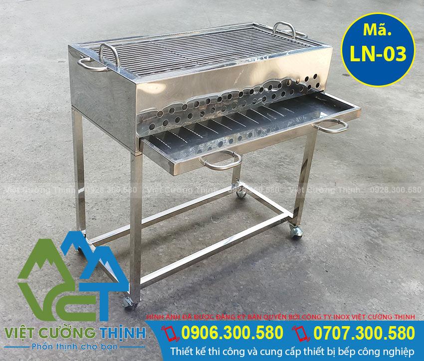 Bếp lò nướng inox ngoài trời chất lượng tại VCT