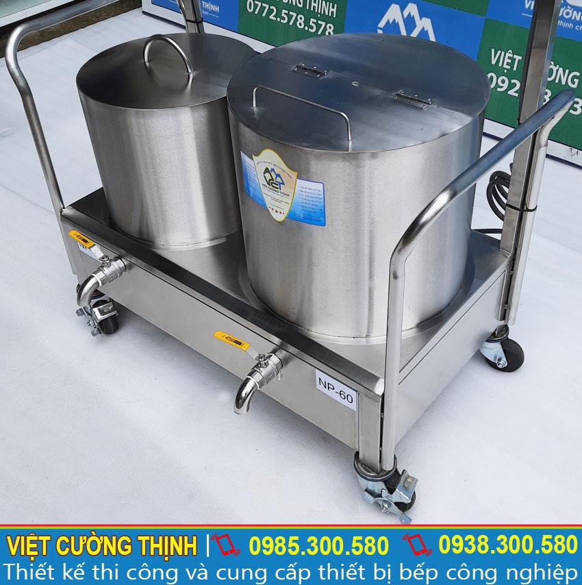 Bộ 2 nồi điện 30-60L chất lượng tại Việt Cường Thịnh