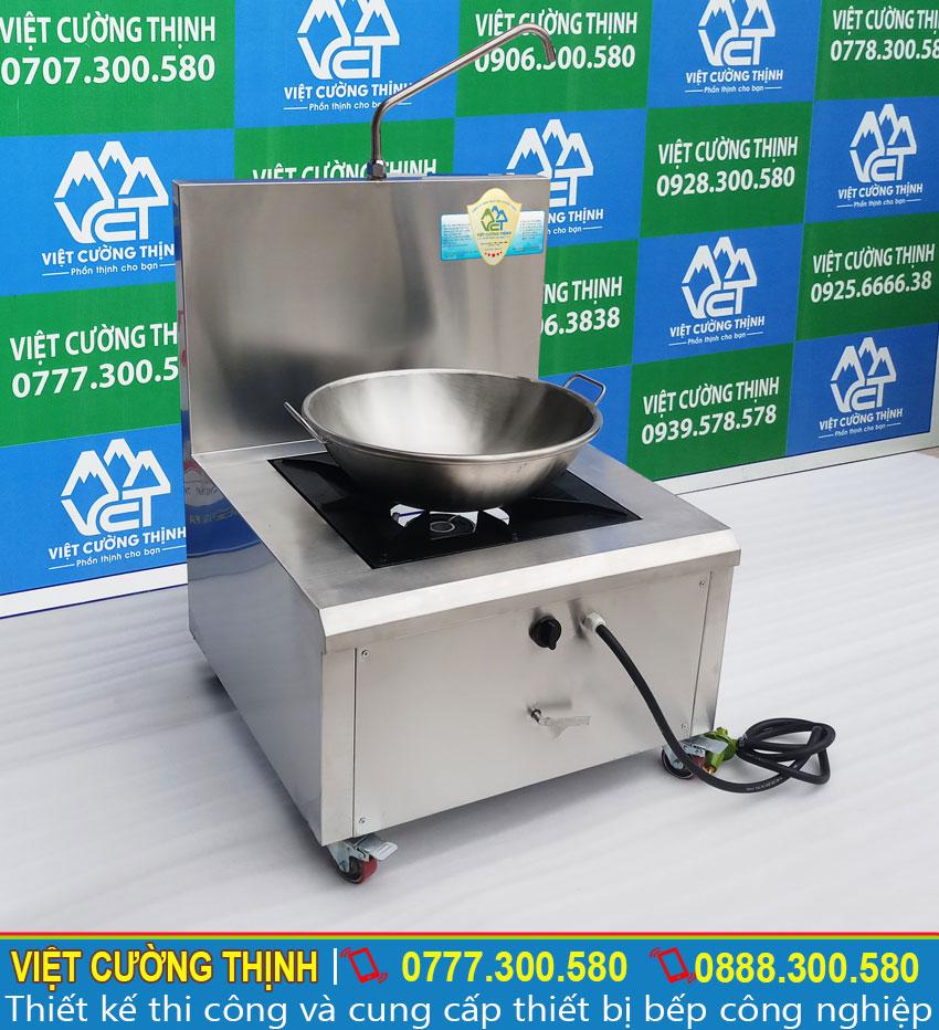 Chảo chiên và bếp sử dụng gas chất lượng tại Việt Cường Thịnh