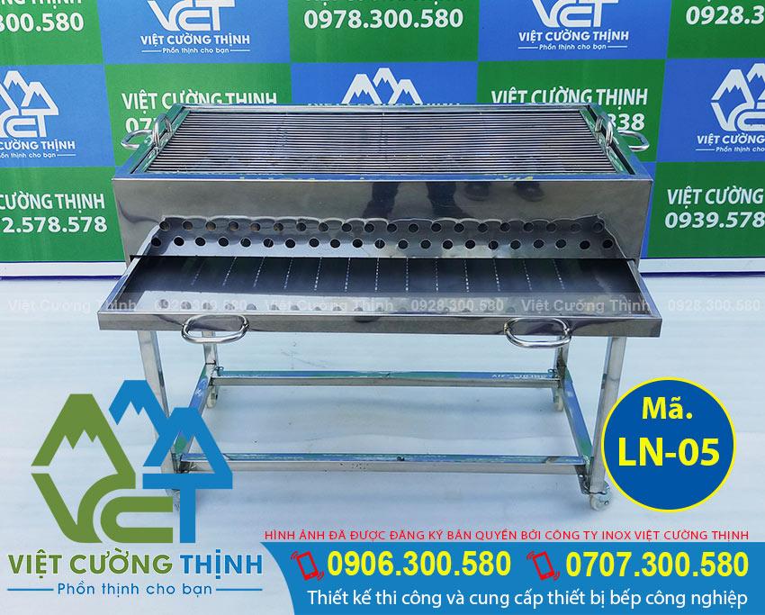 Lò nướng BBQ inox LN-05 Việt Cường Thịnh