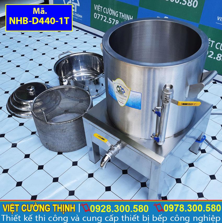 Nồi điện hấp bắp inox được sản xuất tại Inox Việt Cường Thịnh