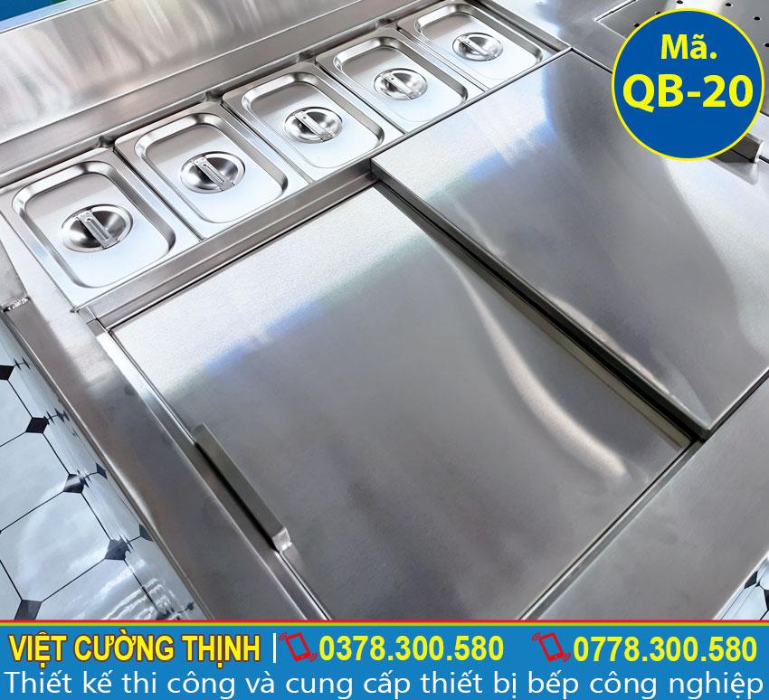 Quầy bar pha chế inox 304 chất lượng tại Việt Cường Thịnh