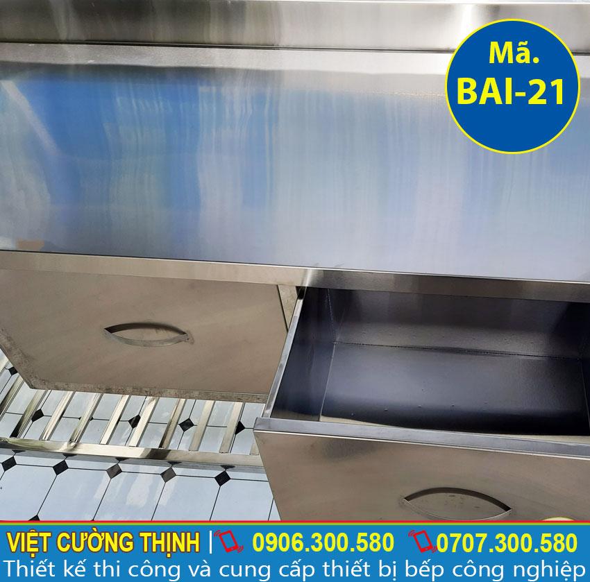 bàn bếp inox 304 chất lượng tại Việt Cường Thịnh
