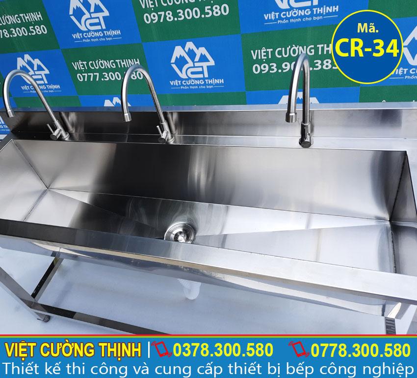 Báo giá máng rửa tay inox 304
