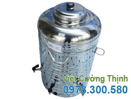 Bình nước đá inox 80 lit BN-80