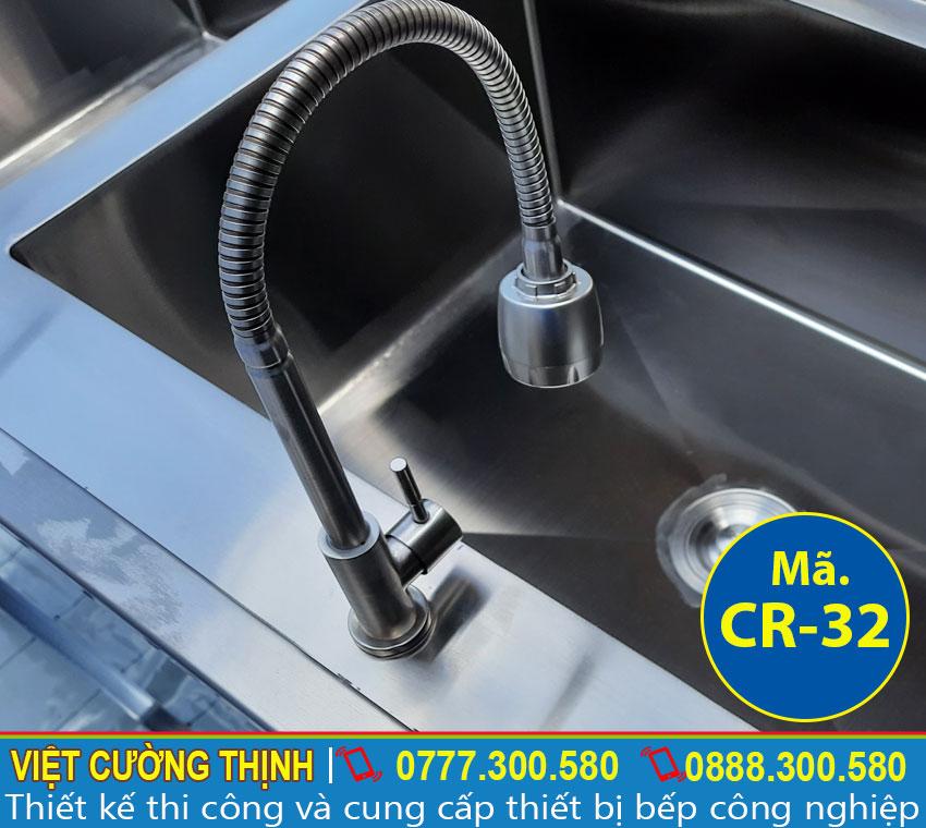 Vòi nước bồn rửa chén 2 ngăn