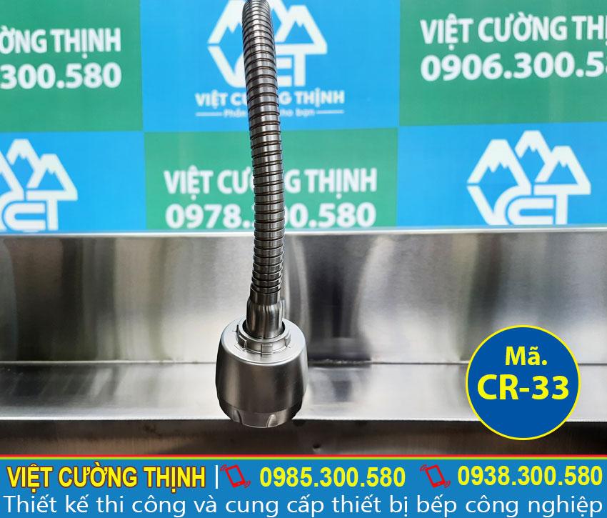 Vòi nước chậu rửa chén 2 ngăn