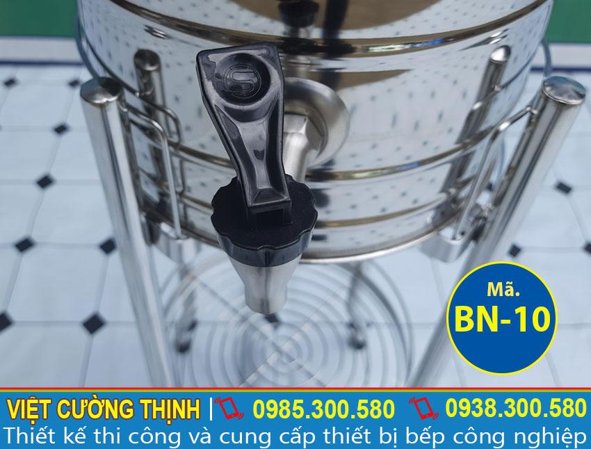 Vòi xả Bình nước đá inox 10L