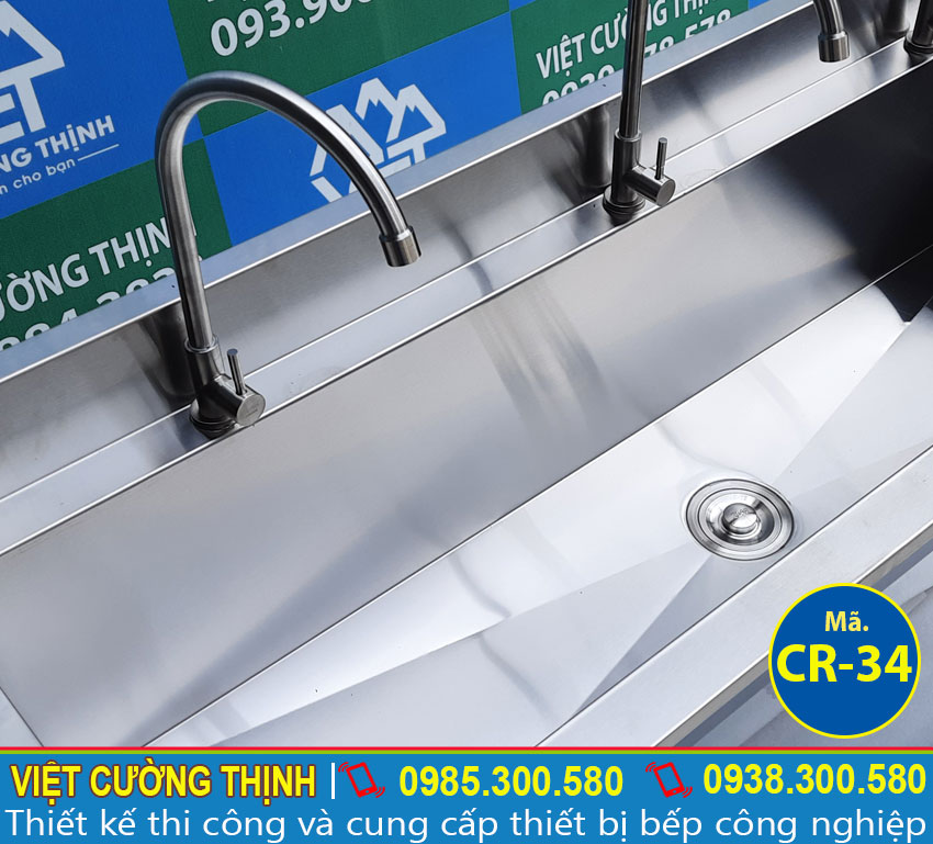 Vòi xả nước máng rửa tay inox 304