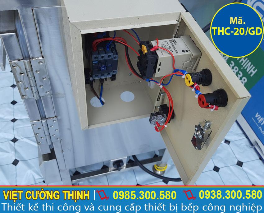 Hộp điện tủ nấu cơm sử dụng điện và gas