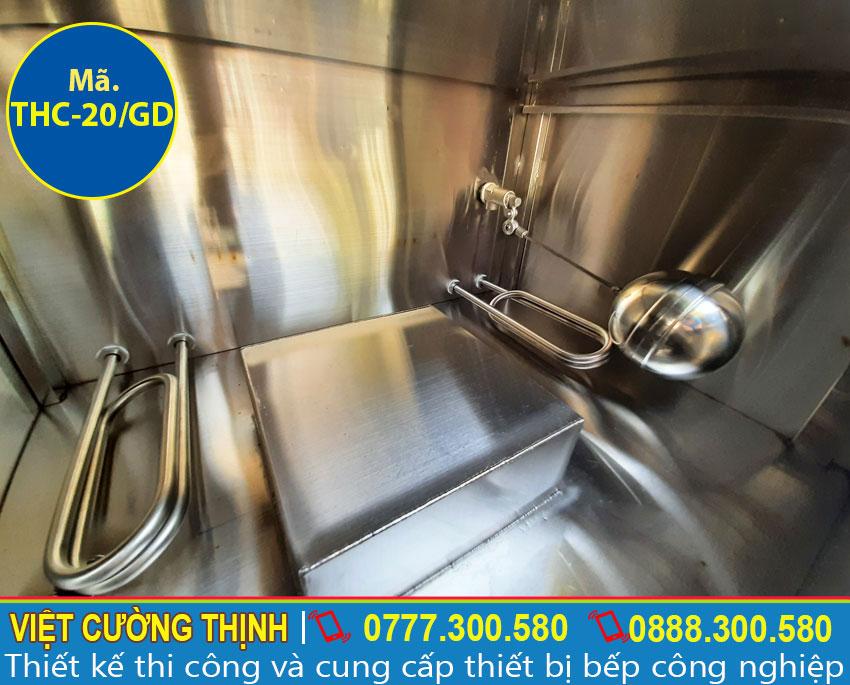 Ống đựng mức nước tủ nấu cơm