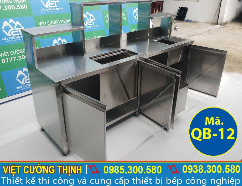Quầy pha chế trà sữa chất lượng tại Việt Cường Thịnh