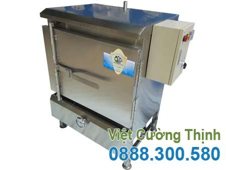 Tủ hấp cơm 20Kg sử dụng điện và gas THC-20/GD