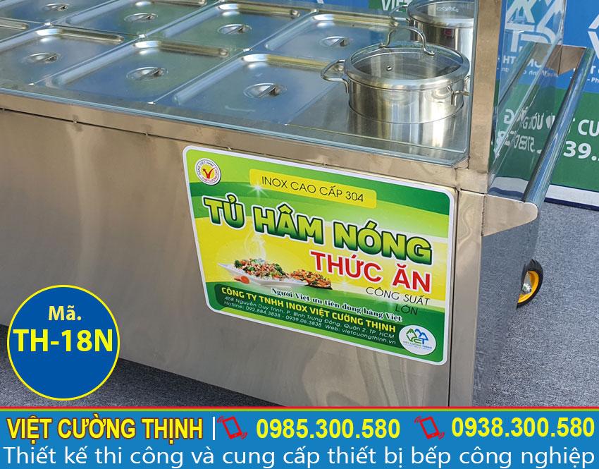 Báo giá xe hâm nóng thực phẩm