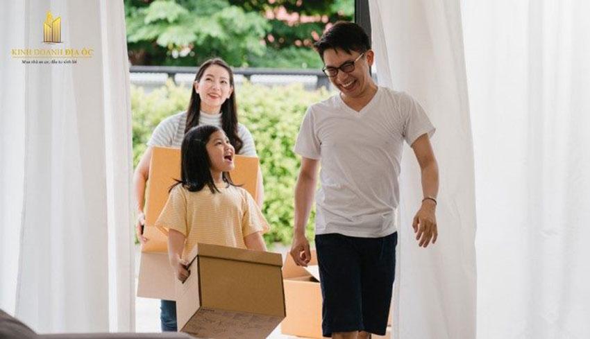 Giữ tâm trạng vui vẻ khi dọn đến nhà mới