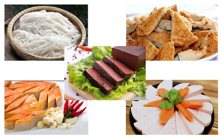 Nguyên liệu nấu món bún bò Huế để kinh doanh