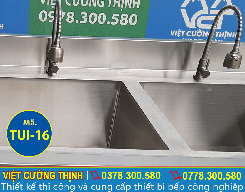 Vòi xả chậu rửa chén bát inox 304